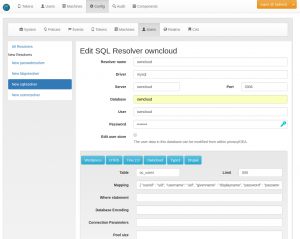 Create an ownCloud resolver.